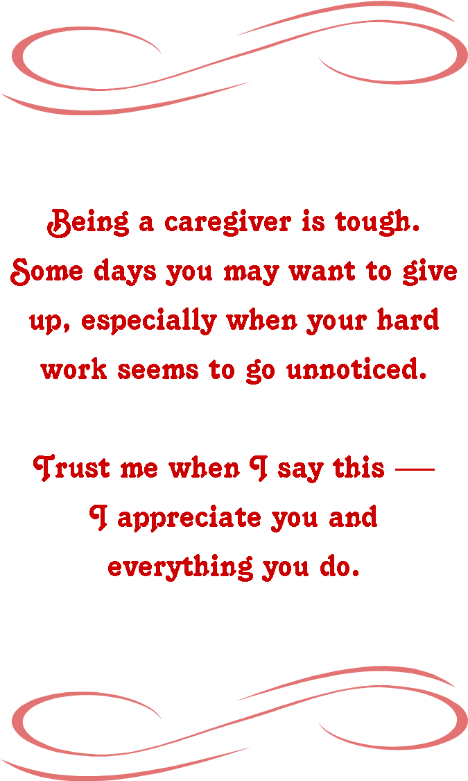 Edi Greeting Heart Disease Caregiver Appreciation Caregiver Appreciation Caregiver Quotes Healthcare Quotes