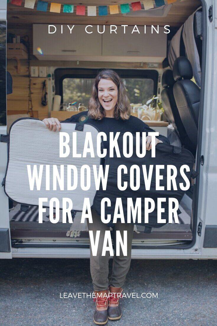 Diy window covers for campervan window coverings
