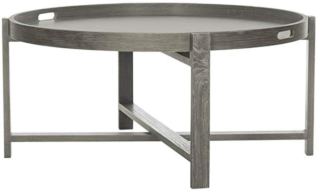 Amazon Com Modern Round Coffee Table With Images Coffee Table