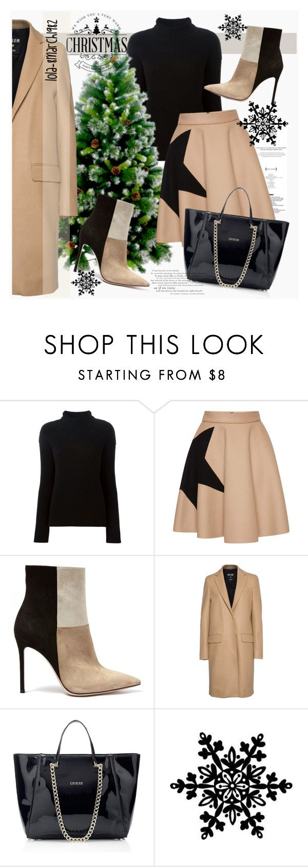 """""""Untitled #1888"""" by lola-8march1982 ❤ liked on Polyvore featuring Helmut Lang, MSGM and Gianvito Rossi"""