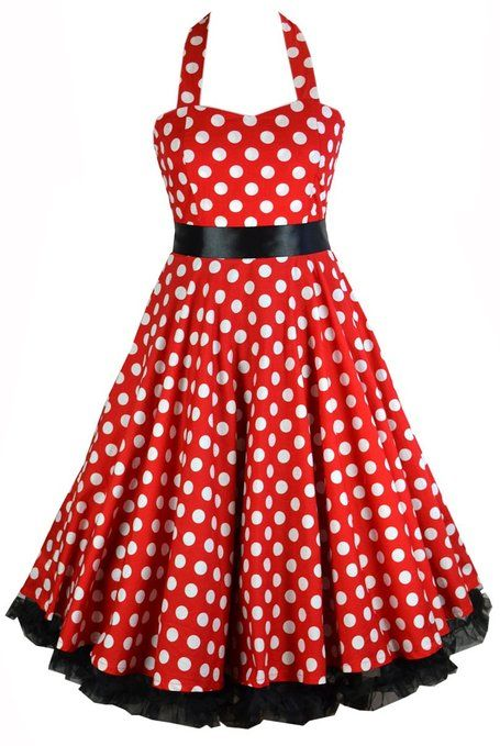 4e8280ee574 50s Red   White Polka Dot Swing Rockabilly Dress with Black Ribbon Bow    Petticoat (4XL US Size 16)