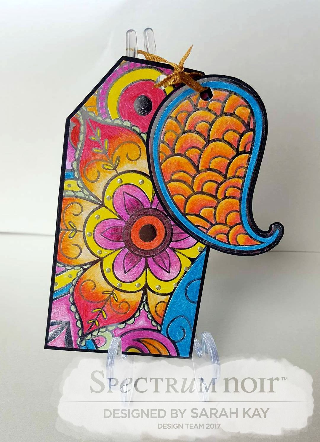 tag design by sarah kay using new colorista launches colorista