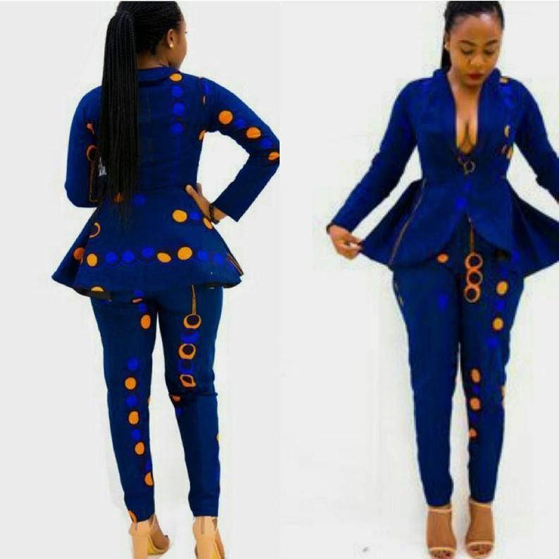 Tissu imprimé africain, Wax mode africain, Ankara robes pour les femmes, tenue africaine, vêtements africain, robes africaines, vêtements africain, veste de bal #ankaramode