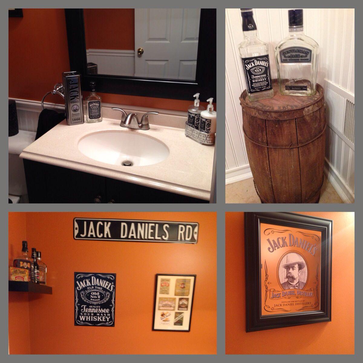 Jack Daniels Decor, Small Bathroom And Men Cave