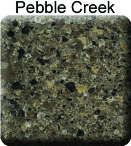 Riverstone Quartz Countertop Sample Pebble Creek