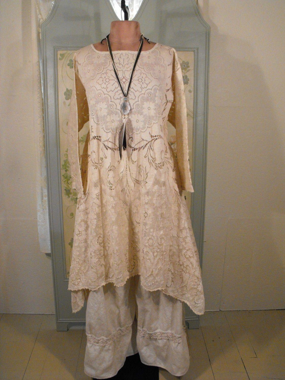 Vintage Linen/Lace Bloomers