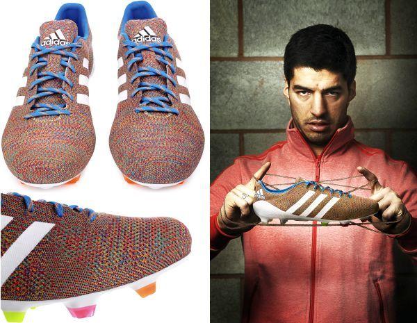 Luiz Suarez to wear wold's first knitted football shoes Adidas Samba  Primeknit
