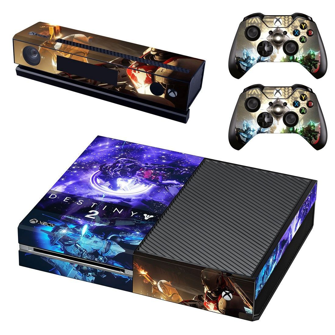 Destiny 2 xbox one skin decal for console and 2 controllers   Cool