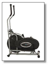 The Exerpeutic Aero Air Ellipticals offer your body a low impact upper and lower body workout. The natural elliptical movement allows you to burn a lot of calories without putting unnecessary stress and injury to your ankles and joints. If you are already used to a heavy workout plan, then just simply adjust the tension dial and your good to go. The heavier the resistance, the more potent the workout gets, which simply means more calories shed.