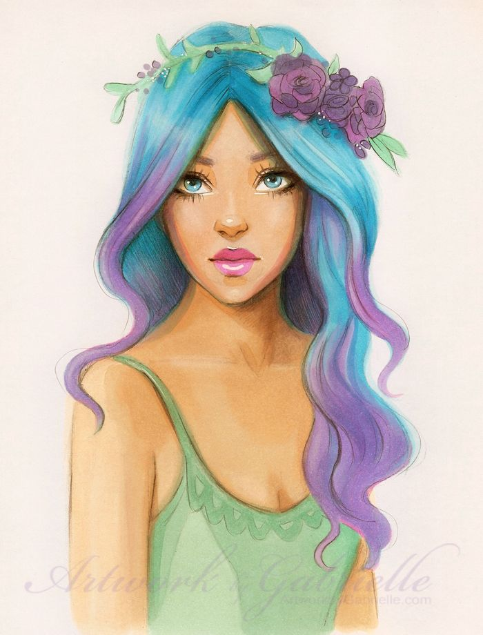 May Flowers By Gabbyd70 On Deviantart Copic Marker Drawings