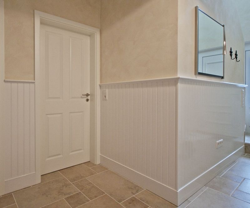 Fantastisch #Wandverkleidung #Eingangsbereich #Flur #Wandgestaltung #beadboard.de Bild  + Ausführung:
