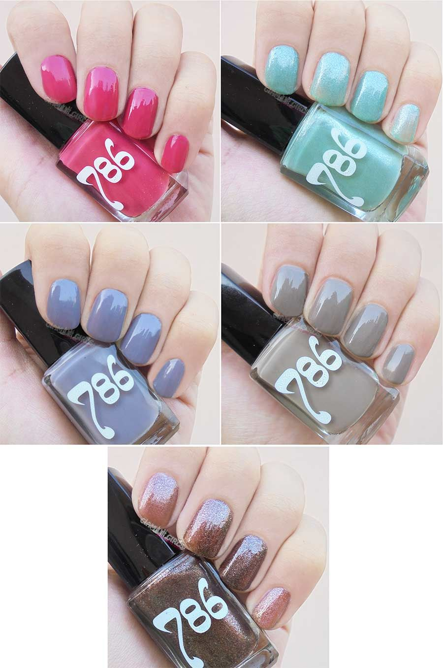 786 Cosmetics Halal Nail Enamel, Wudu friendly Nail Polish - Review ...