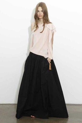 Love the skirt drama