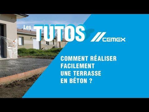 Tuto / DIY  Comment réaliser facilement une terrasse en béton
