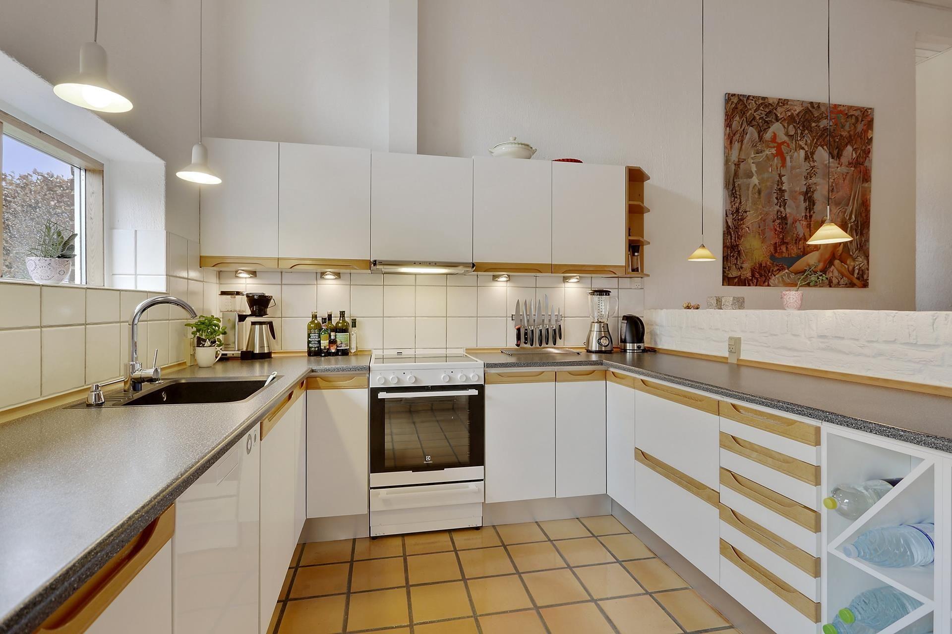 Villa på Sømosevej i Galten - Køkken