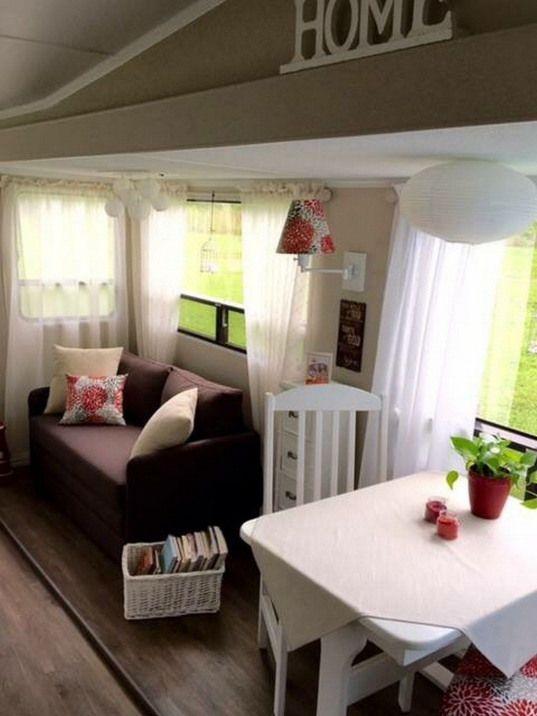 80 Best RV Camper Interior Remodel Ideas (40)