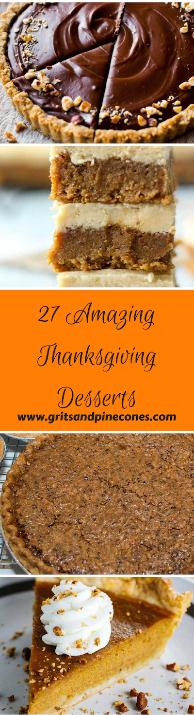 40 Best Desserts for Thanksgiving - Easy Recipes and Menu Ideas