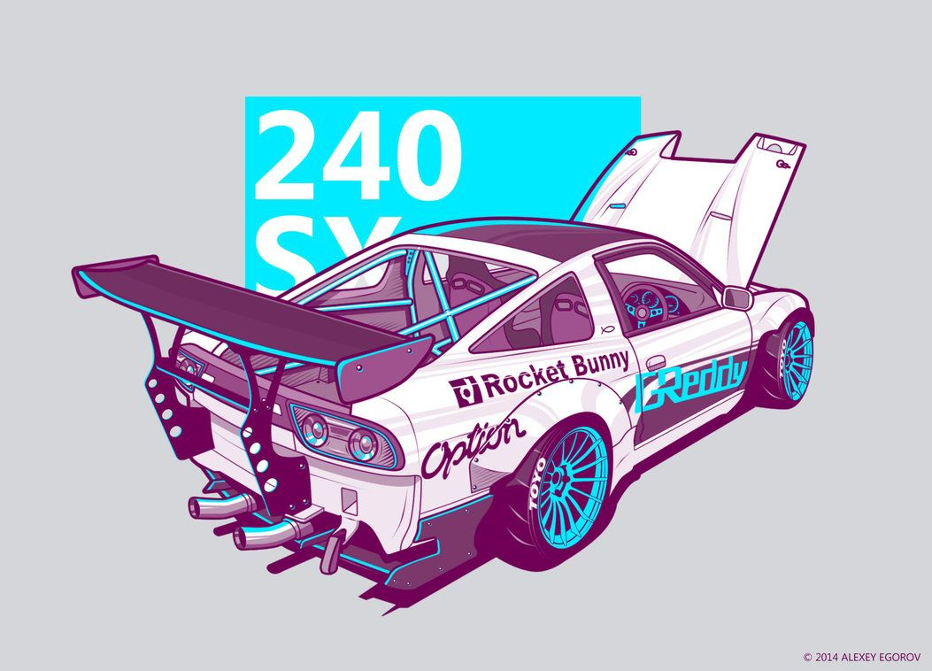 Nissan sx by rsr coloring pages pinterest nissan jdm and