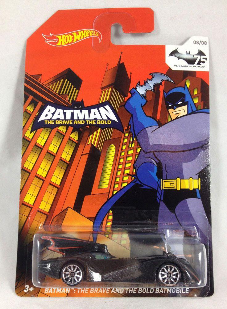 Batman 75th Anniversary Hot Wheels Brave And Bold Batmobile 08 08
