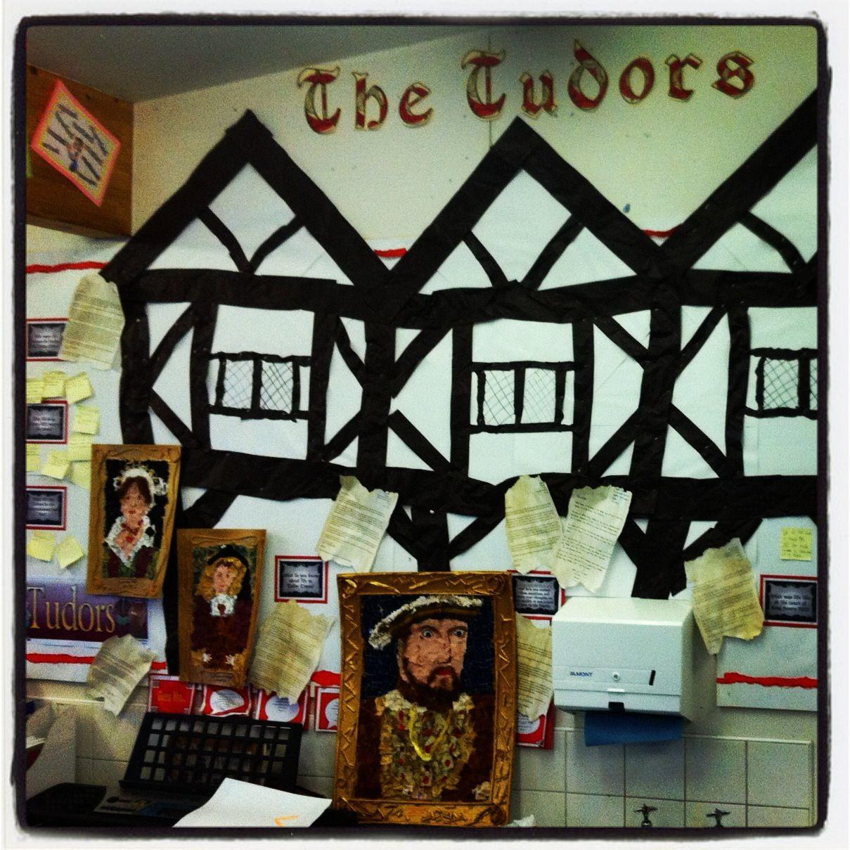 Tudor Display Creative Curriculum Wall Display Tudor