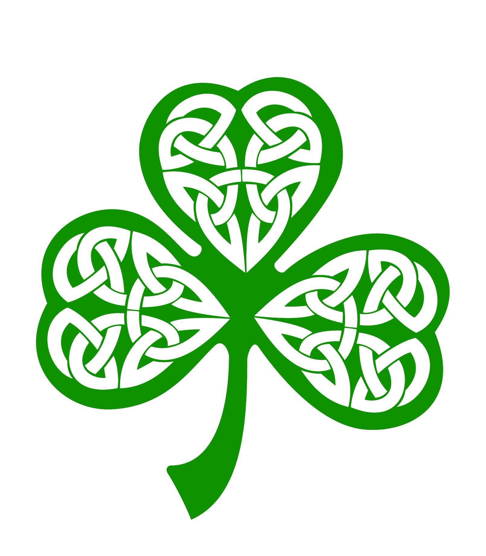 The Shamrock - Celtic Symbols | Irish | Pinterest | Símbolos, Santa ...