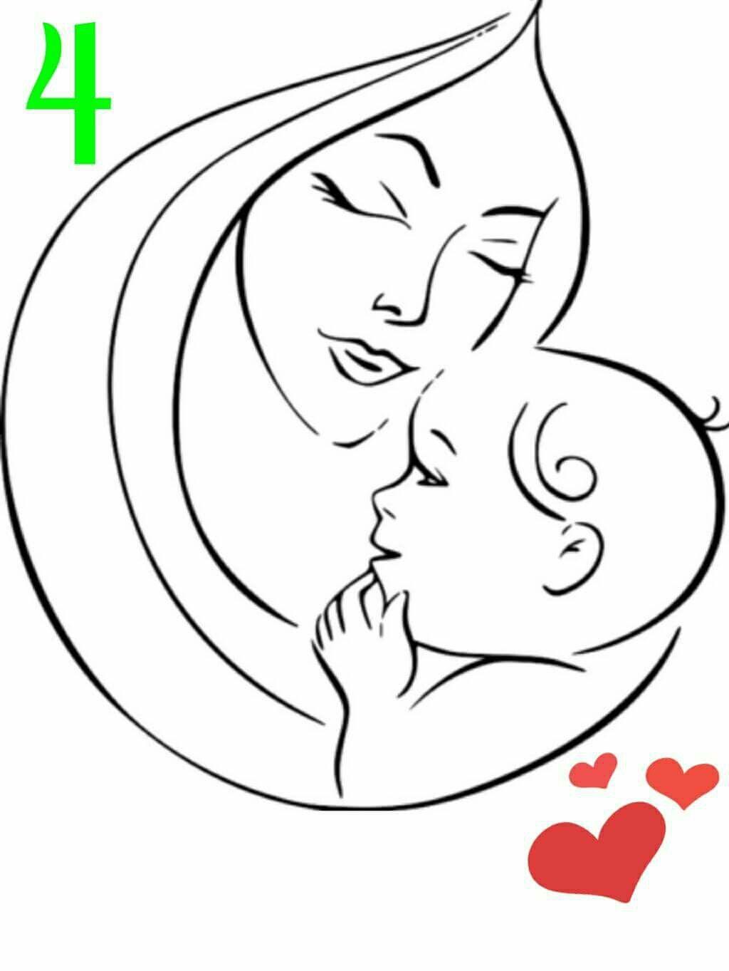 Pin By Beatriz Landin On Applikaciya Shablony Dlya Vyshivki Sketches Mom Art Drawing Images