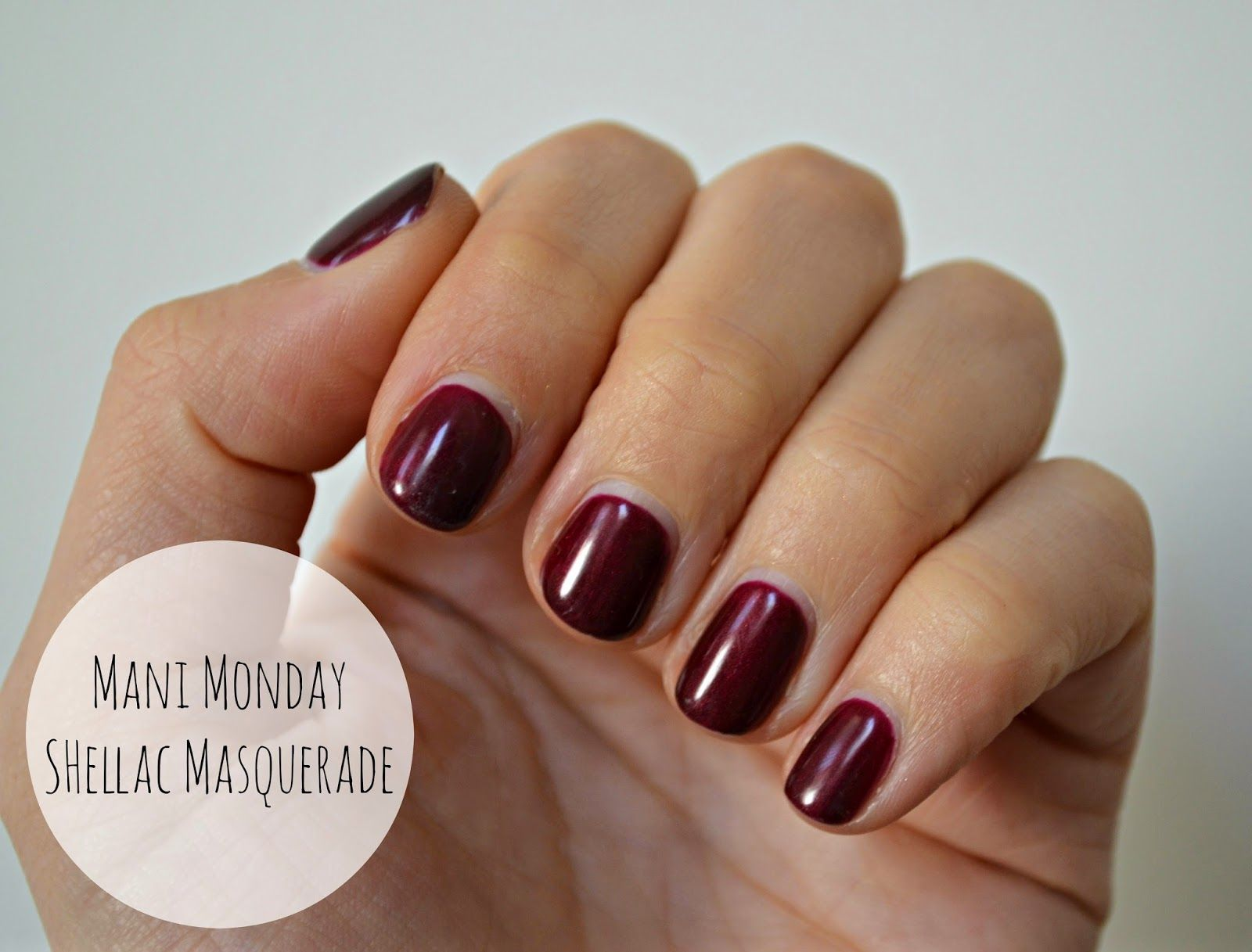 Currently my favorite... Cnd shellac, Dark Lava | Nail colors ...
