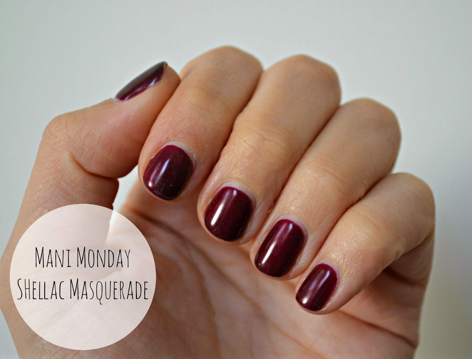 CND Shellac Masquerade | Nails | Pinterest | Masquerades, Shellac ...