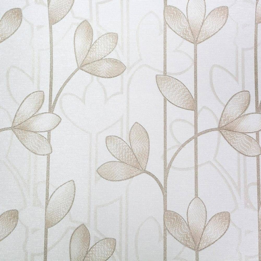 Papel De Parede Vin Lico Bege C Textura Floral Claro Compre  -> Papel De Parede Para Sala Lavavel