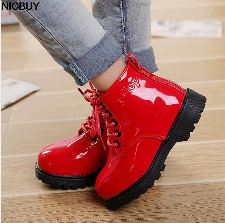 2019 New Women s shoes children boys girls Martin boots leather Waterproof  Boots  fashion  clothing  shoes  accessories  kidsclothingshoesaccs   girlsshoes ... c8df472a1335