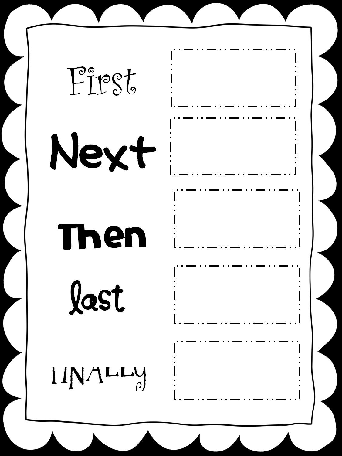 Sequencing Worksheets For 1st Grade In