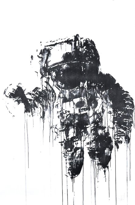 Screen Printing Art   'Astronaut' Print Available - PostersandPrints - An Urban Street Art ...