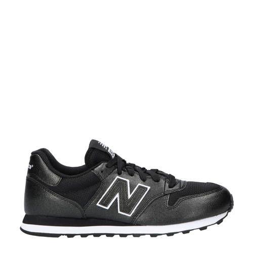 New Balance 500 sneakers zwart glitter - Zwarte glitter ...
