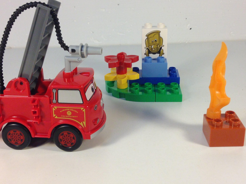 LEGO Duplo Disney Pixar Cars set 6132 Red the Fire Truck