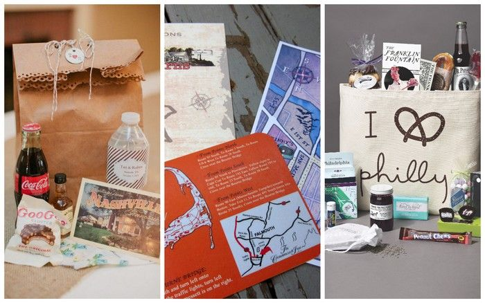 Wedding Welcome Bags for Guests | Apple Brides