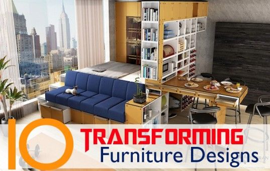 10 Pieces Of Transforming Furniture For Tiny Apartments Read More: 10  Pieces Of Transforming Furniture