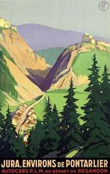 Roger Broders (1883-1953 ): JURA. ENVIRONS DE PONTARLIER, 1930