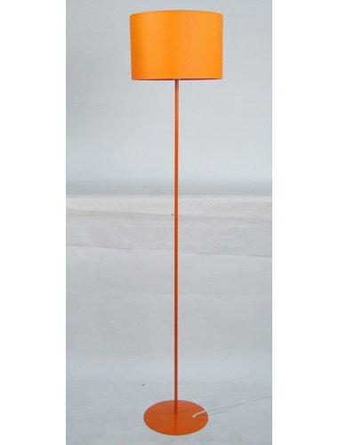 Curcio 153cm Floor Lamp Wrought Studio Finish Orange Floor Lamp