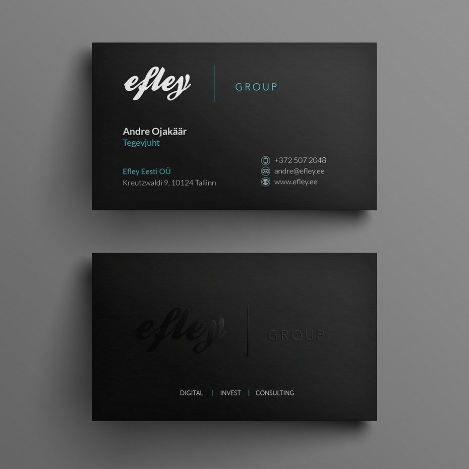 The Top 28 Best Business Card Ideas That Seal The Deal 99designs Business Card Design Minimal Business Card Design Creative Business Card Design
