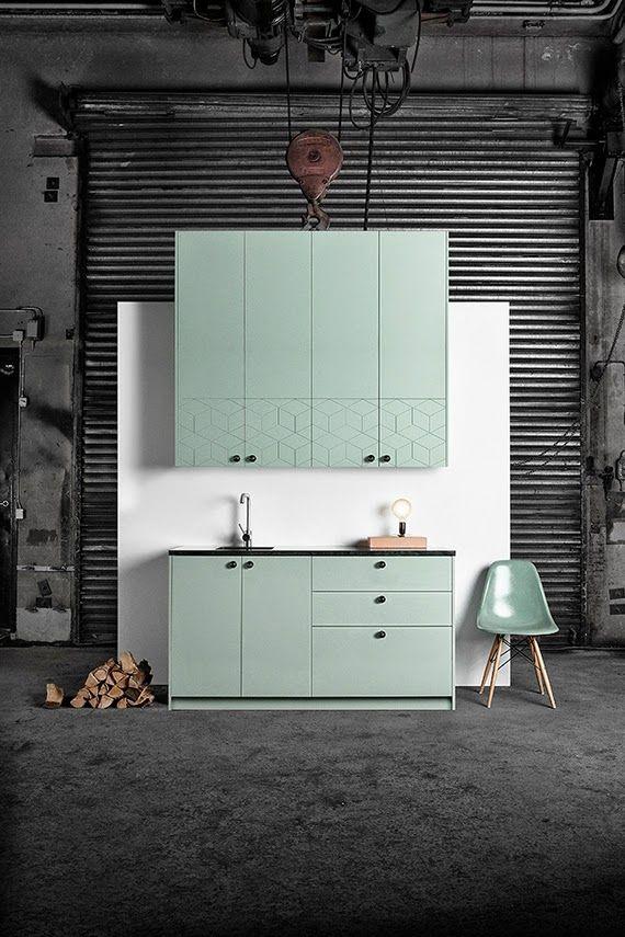 Mintlametta Wonderful Mint Kitchen Arredamento D Interni Ikea