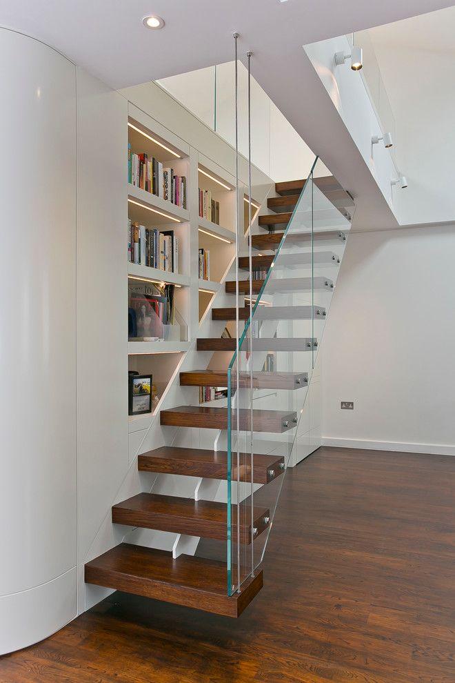 Inspired Built In Bookshelves Innovative Designs Infosofa Tangga