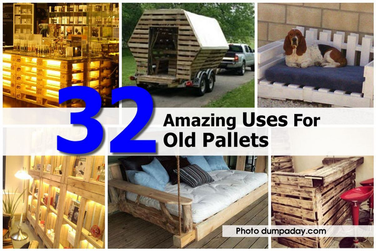 32 amazing uses for old pallets somediys com pallet on extraordinary ideas for old used dumped pallets wood id=24773