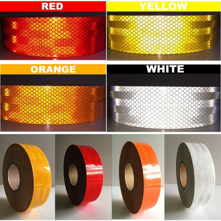 1 Meter DIY Fluorescent Reflective Sticker Automobile luminous strip car&motorcycle Decoration Sticker Car Styling