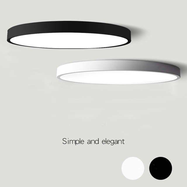 Geliefde Moderne Plafond Verlichting Ronde LED plafondlamp ultradunne Lamp IG49