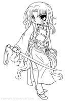 This lineart is available for color, go to yampuff.deviantart.com for more information! :)