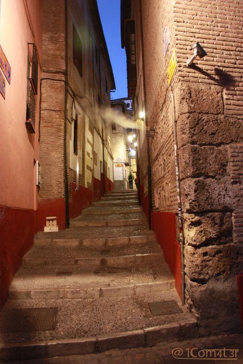 Kitchen night steam - Granada - Spain