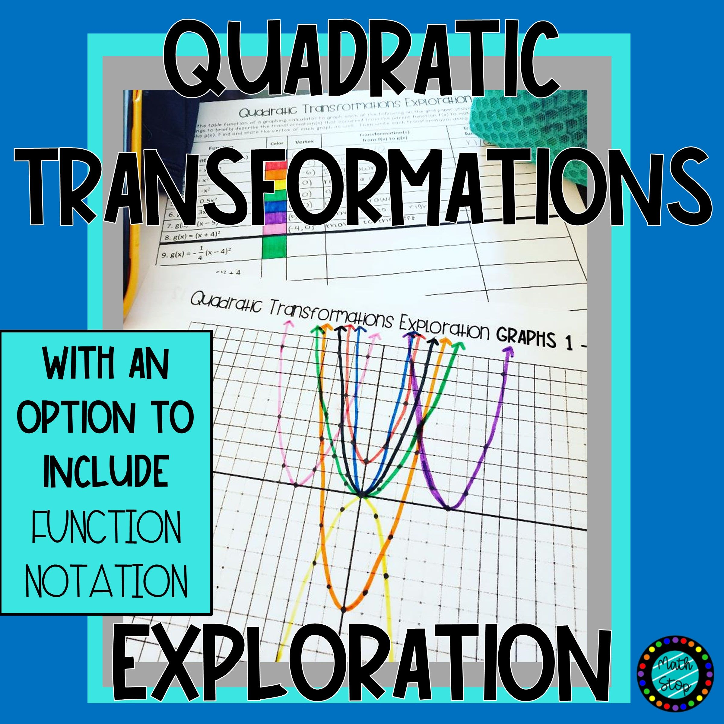 Quadratic Transformations Exploration W Option Of