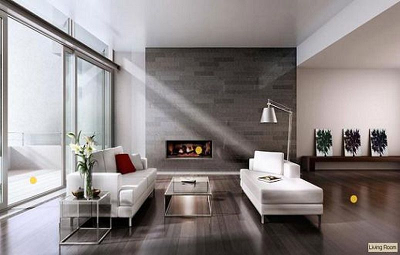 Etonnant Wonderful Minimalist Living Room  Picture