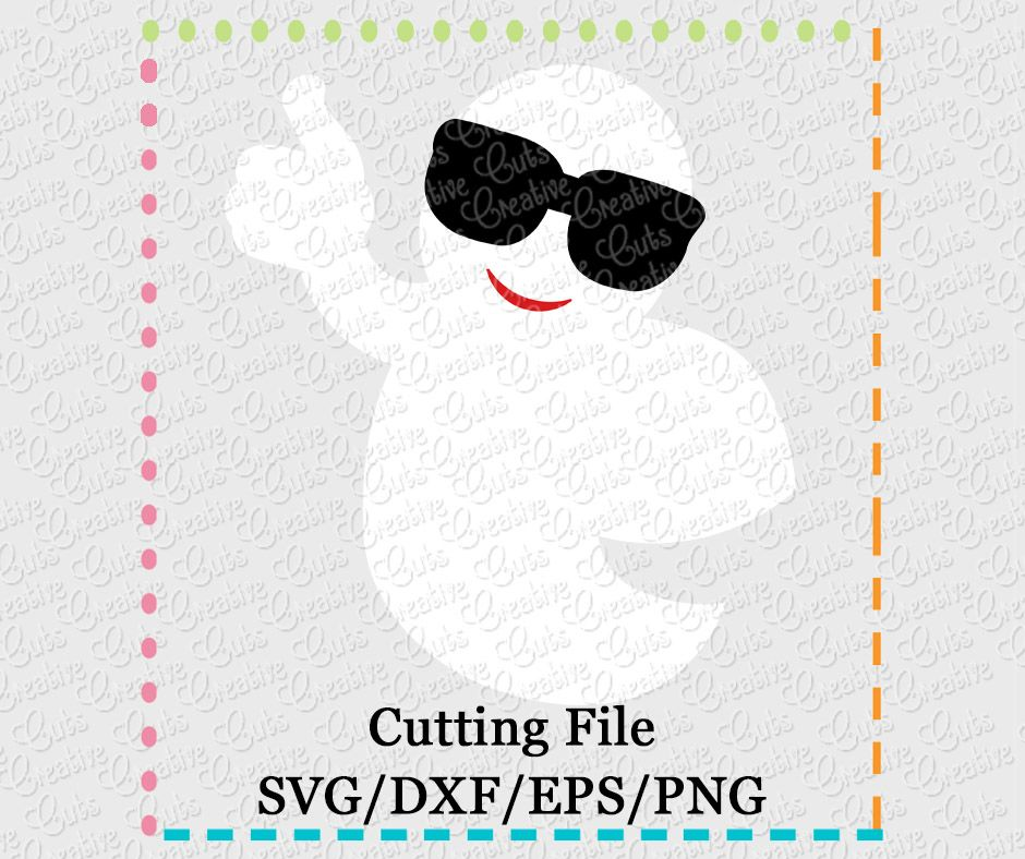 Ghost Glasses Svg Dxf Eps Png Creative Appliques Digitized Embroidery Designs Svg Applique Embroidery Designs
