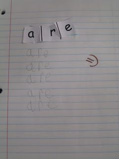 First Grade Shenanigans: Sight Word Practice